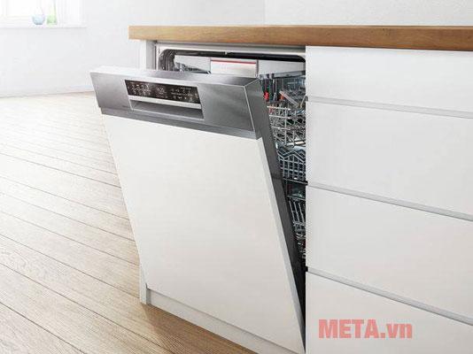 Máy rửa bát âm tủ