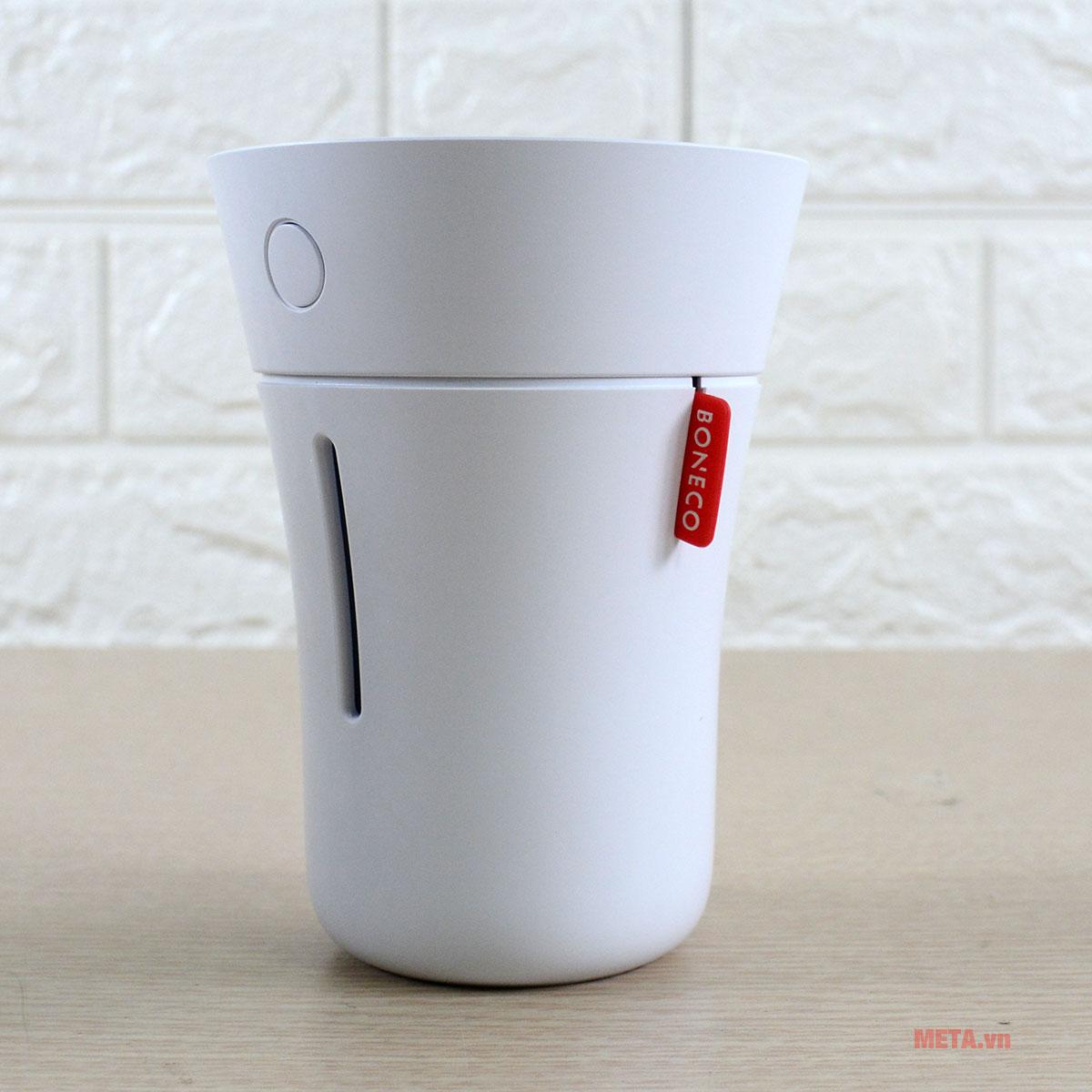 Máy tạo độ ẩm Ultrasonic Boneco U50 thiết kế nhỏ gọn, tinh tế