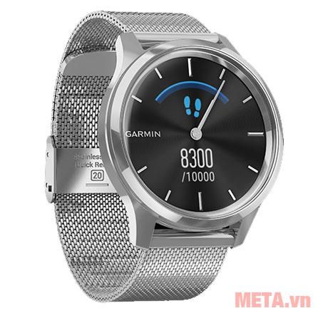Vòng đeo tay thông minh có thời gian sử dụng lên đến 5 ngày ở chế độ Smartwatch