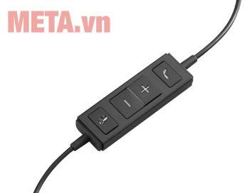 Tai nghe có mic Logitech Headset H570e dễ dàng điều chỉnh và sử dụng