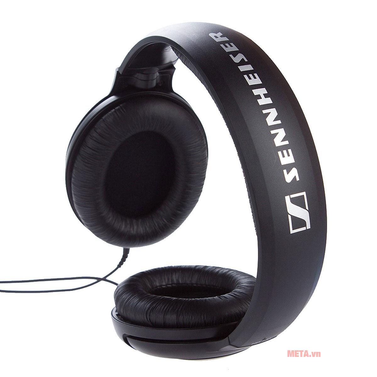 Tai nghe Sennheiser HD 180 thiết kế chụp tai tiện ích