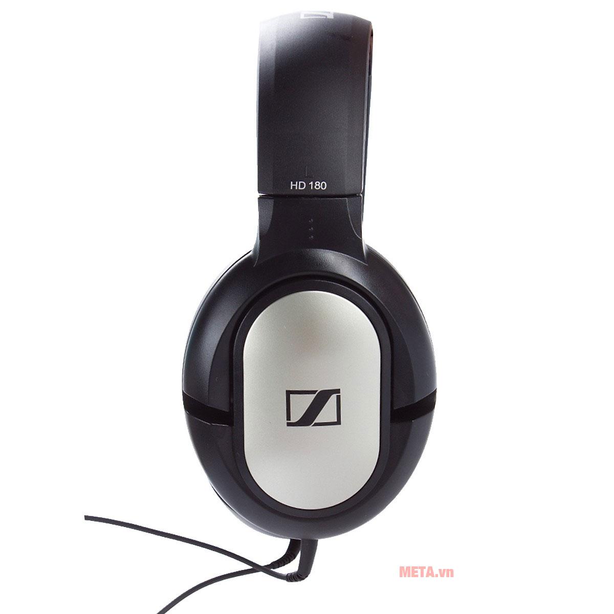 Tai nghe Sennheiser HD 180 thời trang, năng động