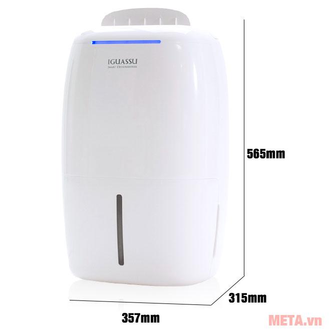 Kích thước máy hút ẩm ChungHo CDF-012 (CHDH-120D1)
