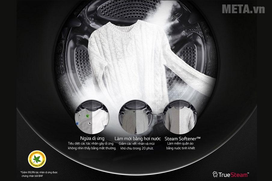 Công nghệ giặt hơi nước diệt khuẩn