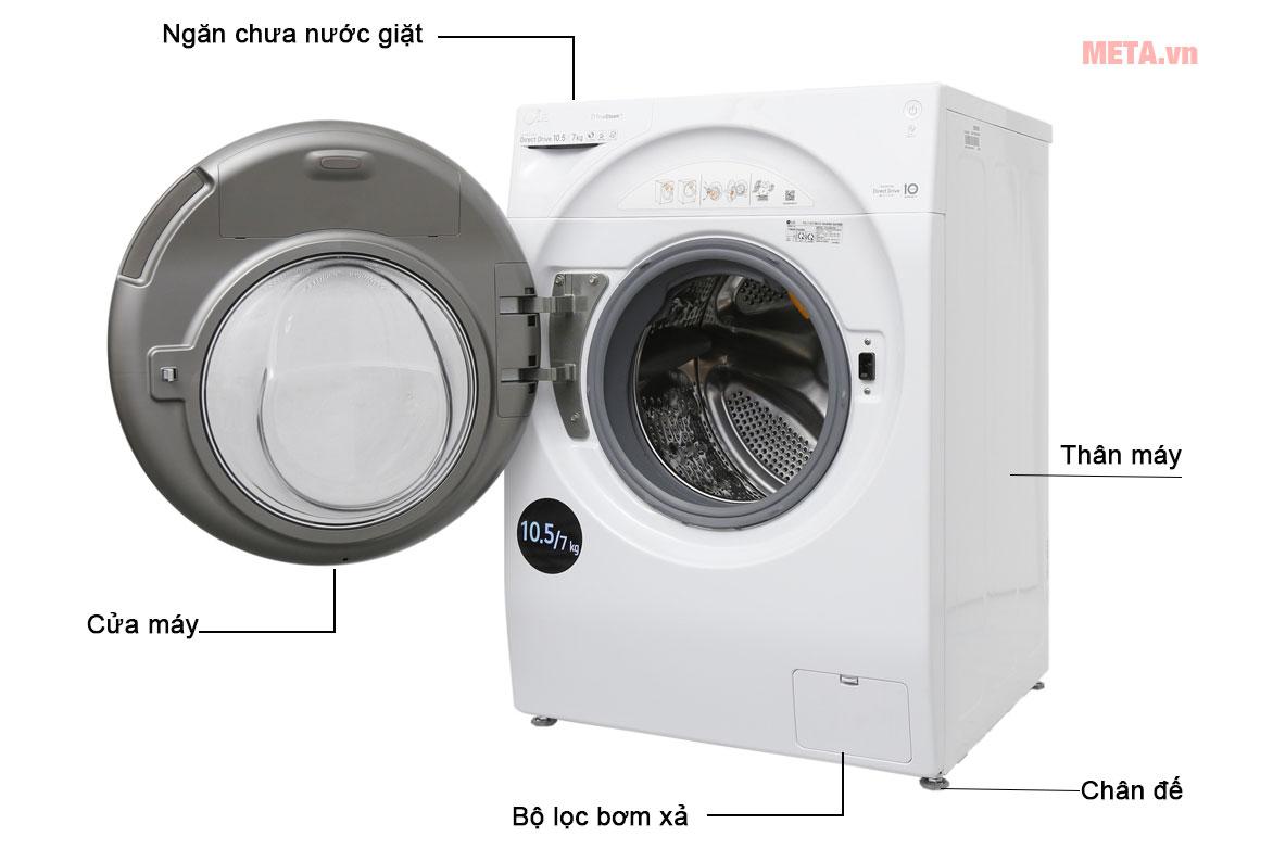 Máy giặt 2 lồng LG