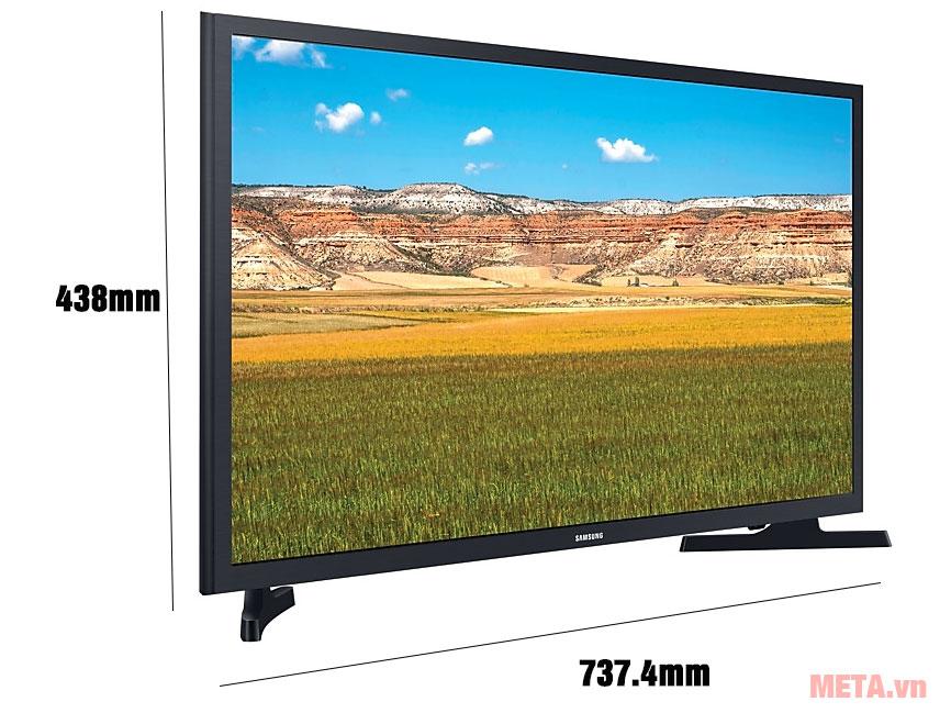 Kích thước TV siêu mỏng, gọn gàng, đẳng cấp