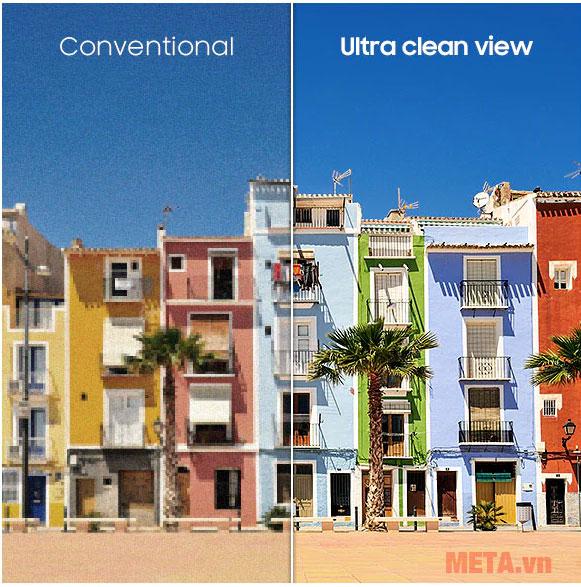 Công Nghệ Ultra Clean View truyền tải chi tiết từng nội dung