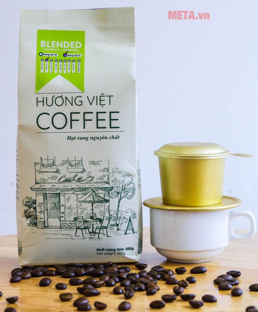 Cà phê Blended số 5 rang mộc nguyên chất