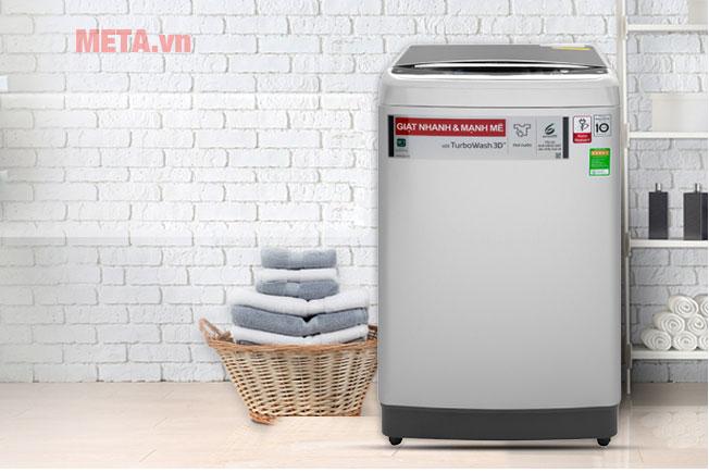 Máy giặt lồng đứng LG TH2112SSAV sở hữu công nghệ Inverter tiết kiệm điện