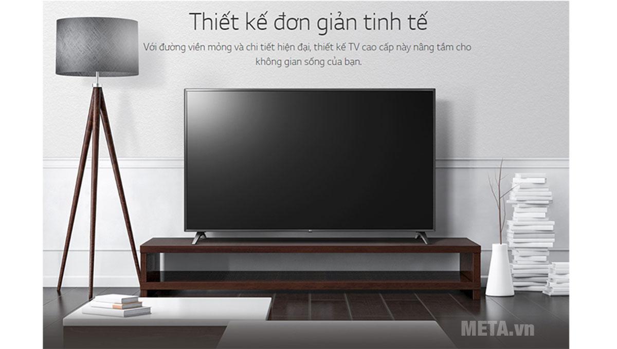 Tivi LG 55 inch 4K UHD 55UM7300PTA thiết kế đầy tinh tế