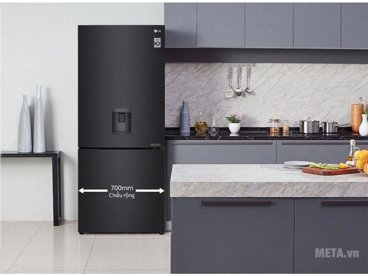 Thiết kế sang trọng phù hợp với không gian bếp hiện đại