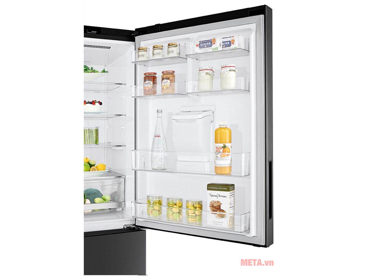 Tủ lạnh LG Inverter GR-D405MC thiết kế cánh tủ dễ dàng đóng mở