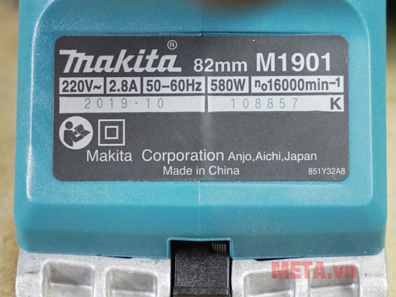 Máy bào Makita M1901