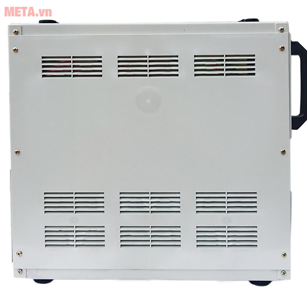 Ổn áp 1 pha Lioa 7.5KVA DRI 7500 có khe tản nhiệt trên thân máy