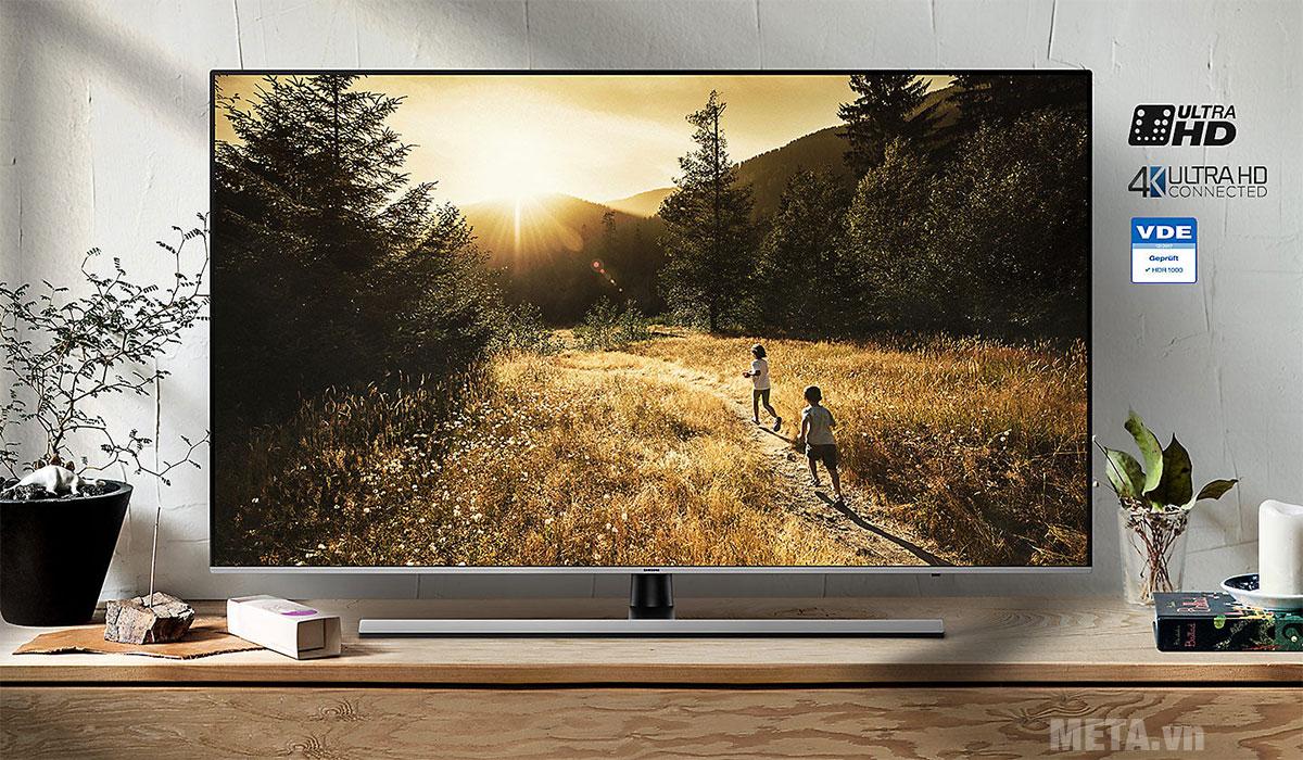 Cảm nhận hình ảnh sắc nét trong mọi khoảnh khắc với TV UHD 4K