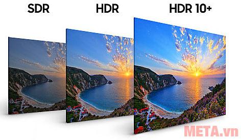 Sắc nét chi tiết trong cả vùng sáng hoặc tối nhất với HDR10+