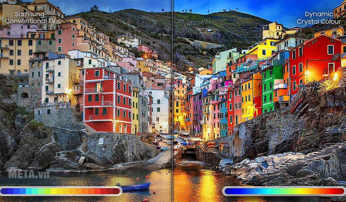 Dải màu sắc mở rộng nâng tầm trải nghiệm