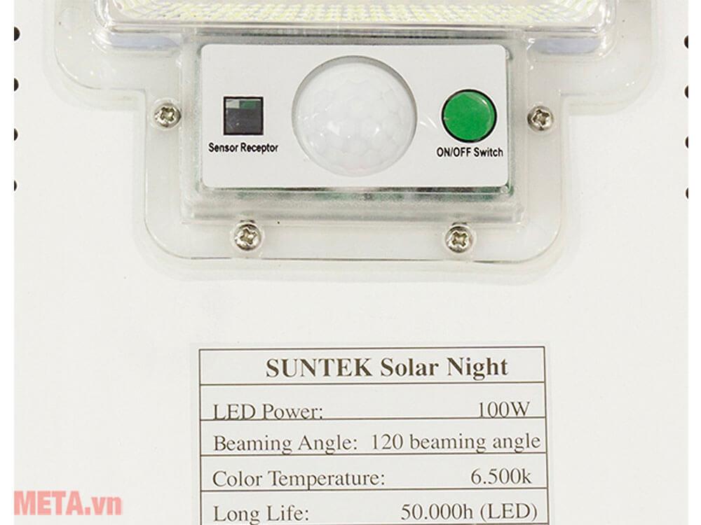 Đèn đường năng lượng mặt trời Suntek