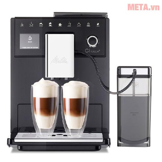 Máy pha cà phê màu đen