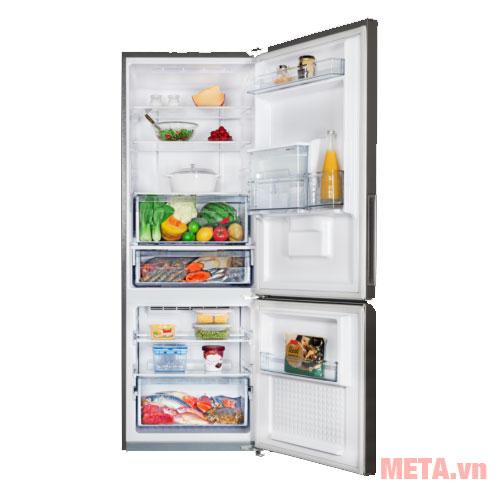 Tủ lạnh Panasonic Inverter NR-BV320WSVN thiết kế ngăn đá phía dưới