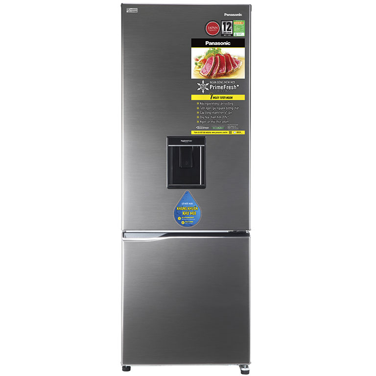 Tủ lạnh Panasonic Inverter NR-BV320WSVN