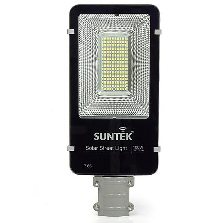 Đèn đường năng lượng mặt trời Suntek JD-66100 chiếu sáng liên tục đến 16 - 18h