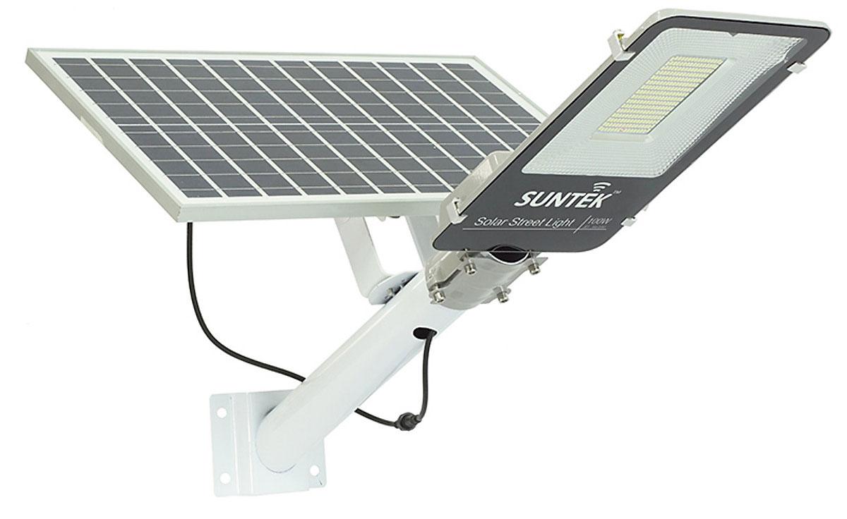 Hình ảnh đèn đường năng lượng mặt trời Suntek JD-66100