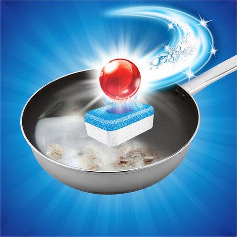 Viên rửa bát Finish All in 1 giúp rửa sạch chén đĩa