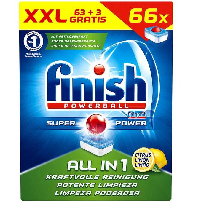 Hộp đựng Viên rửa bát Finish All in 1