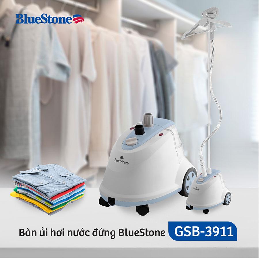 Bàn ủi hơ nước Bluestone có khả năng là được tất cả các loại vải