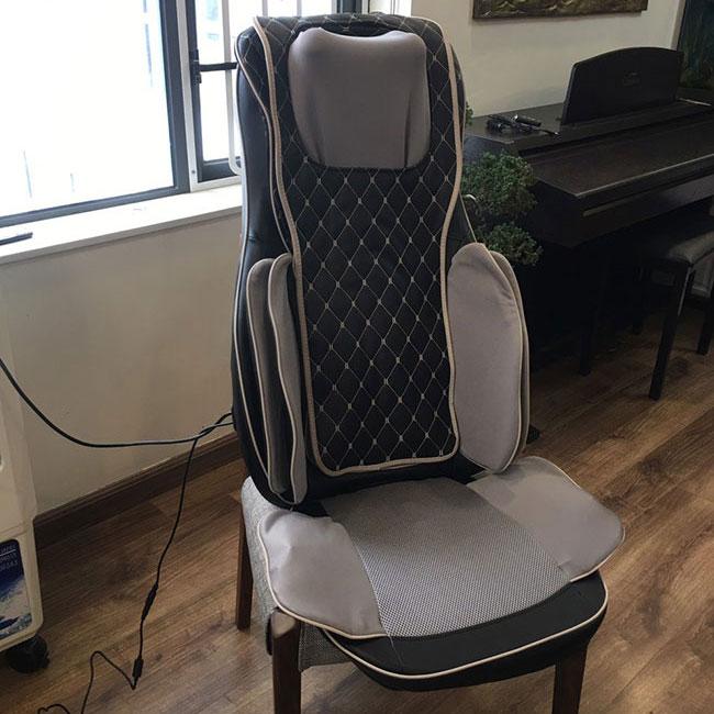 Đệm massage ô tô CP-910A thiết kế chắc chắn, thoải mái