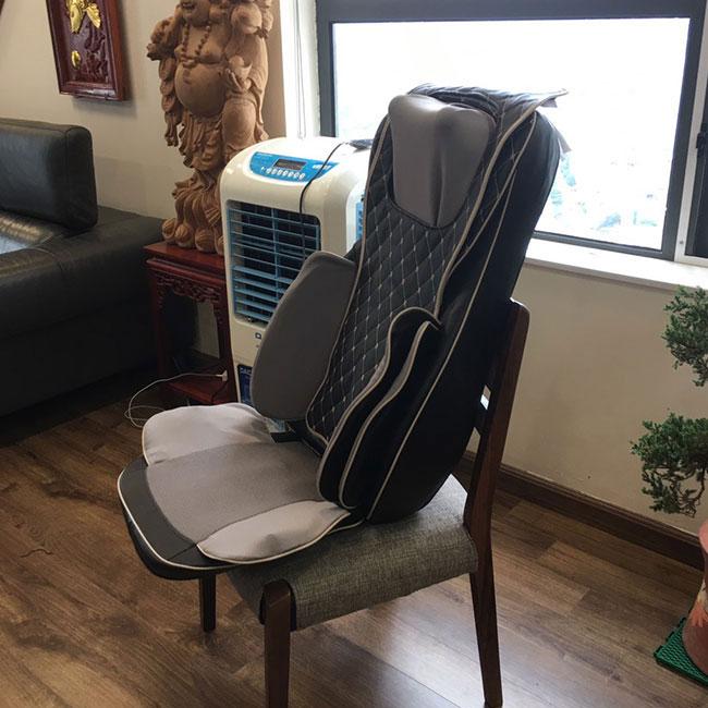 Đệm massage ô tô CP-910A giúp xua tan mệt mỏi nhanh chóng