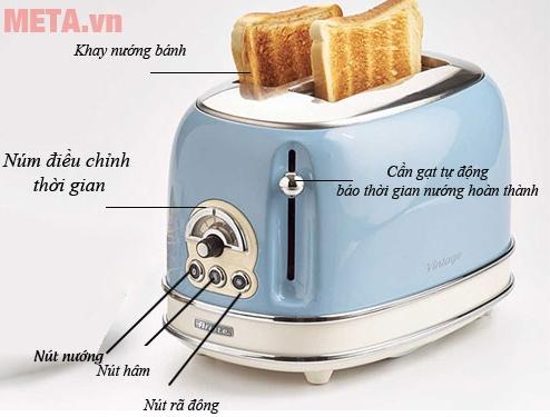Cấu tạo máy làm bánh mì
