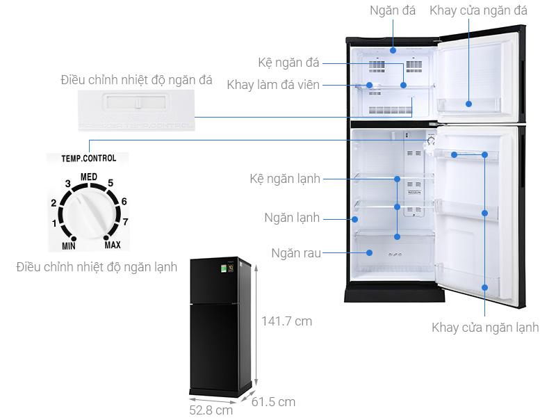Tủ lạnh Aqua AQR-T219FA