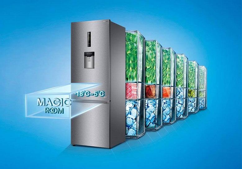Ngăn tùy chỉnh nhiệt độ Magic Room giúp thay đổi nhiệt linh hoạt