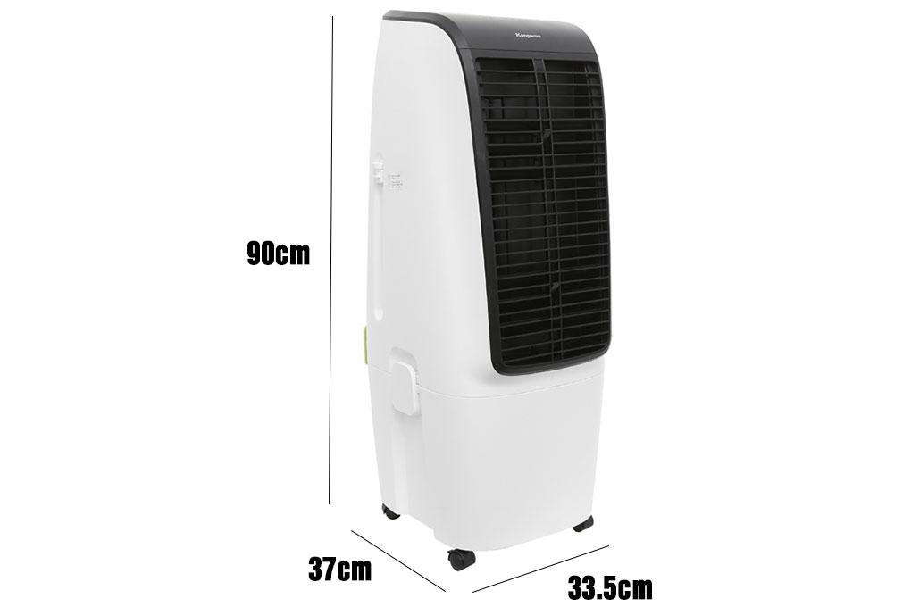 Kích thước máy làm mát không khí Kangaroo KG50F20