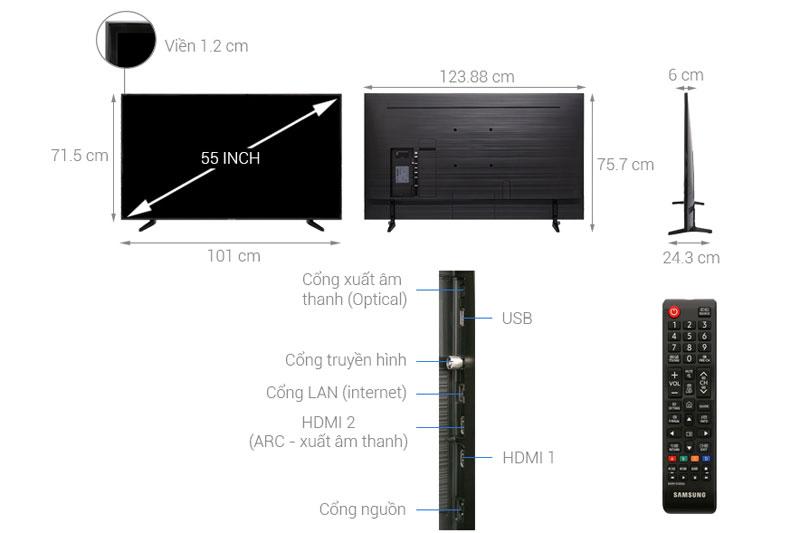 Cấu tạo của tivi Samsung