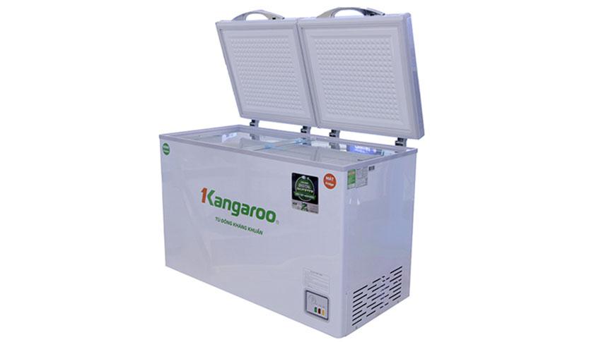 Tủ đông Kangaroo KG320IC2 với dung tích 320L