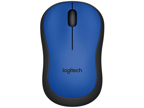 Chuột không dây Logitech M221 Silent màu xanh