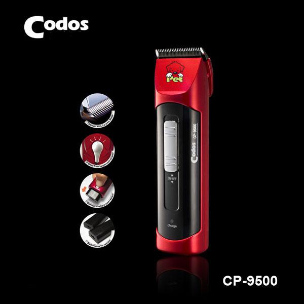Tông đơ CP 9500 giúp cắt tỉa lông gọn gàng, đơn giản