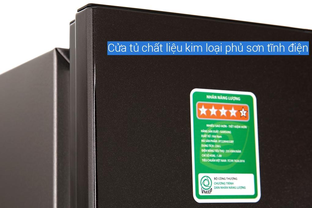 Tủ lạnh Samsung RT22M4032BY/SV
