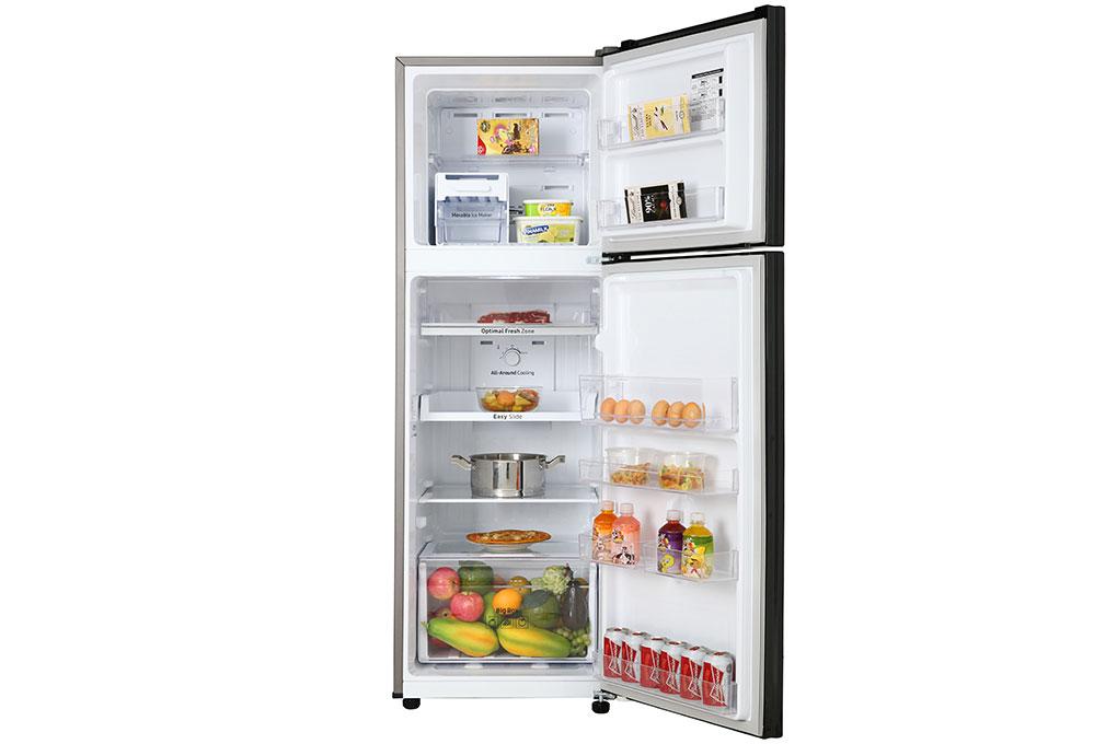 Tủ lạnh thiết kế ngăn đá ở trên tiện ích