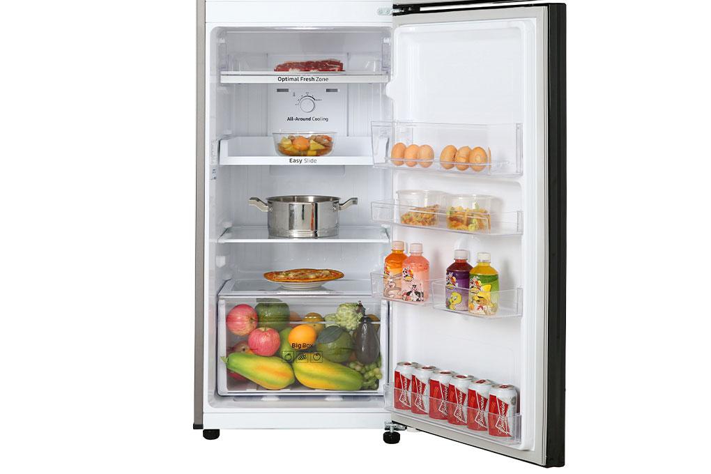 Tủ lạnh Samsung RT25M4032BU/SV có dung tích 256L