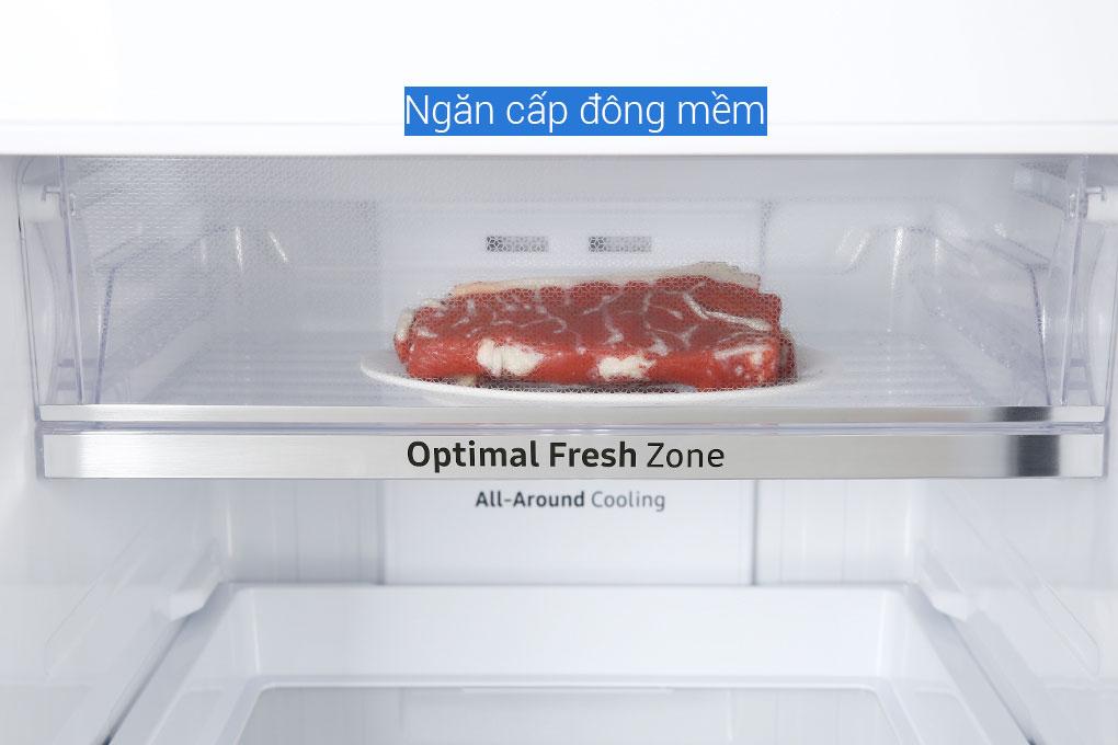 Ngăn cấp đông mềm bảo quản thực phẩm sống ở nhiệt độ lý tưởng