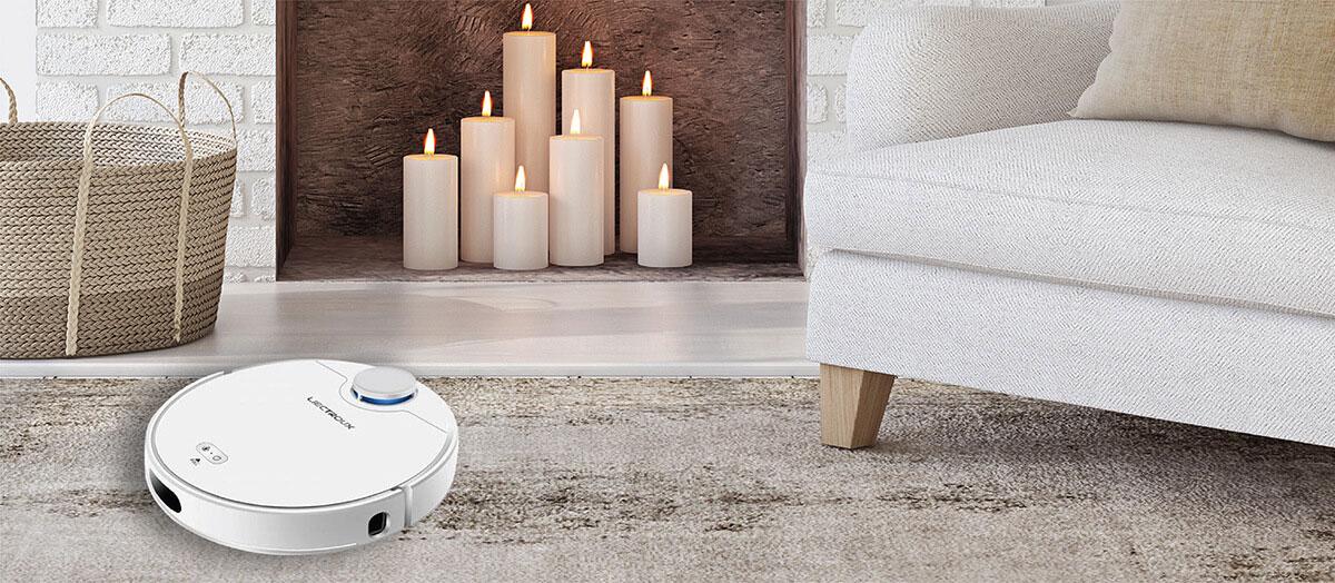 Robot hút bụi Liectroux ZK901 làm sạch mọi ngóc ngách trong nhà