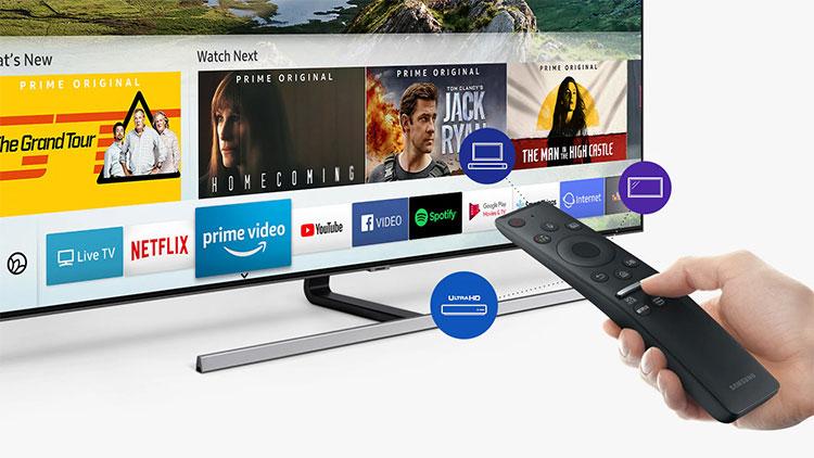 Smart Hub và One Remote cho thao tác dễ dàng