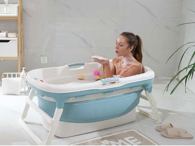 Bồn tắm sử dụng được nước nóng