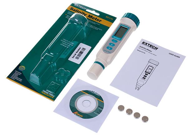 Máy đo độ mặn và nhiệt độ Extech EC170