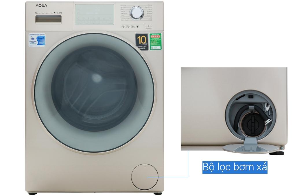Máy giặt cửa trên Aqua