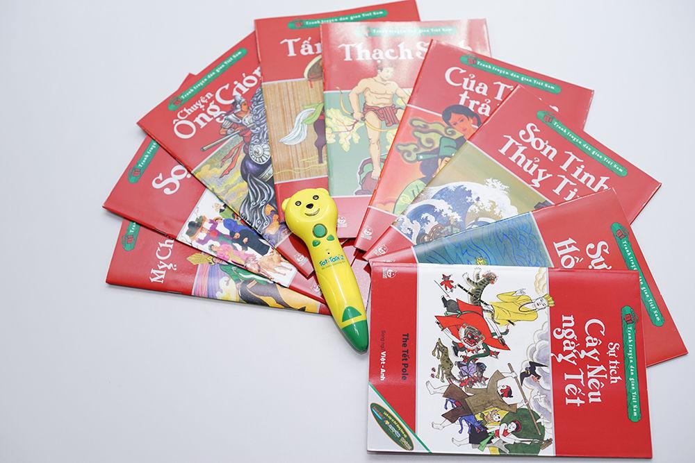 Bút nói thông minh Tot-Talk 2 cùng trẻtìm hiểu về truyện cổ tích dân gian Việt Nam